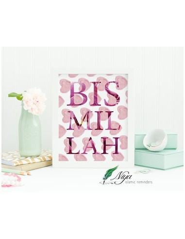 Bismillah - harten roze